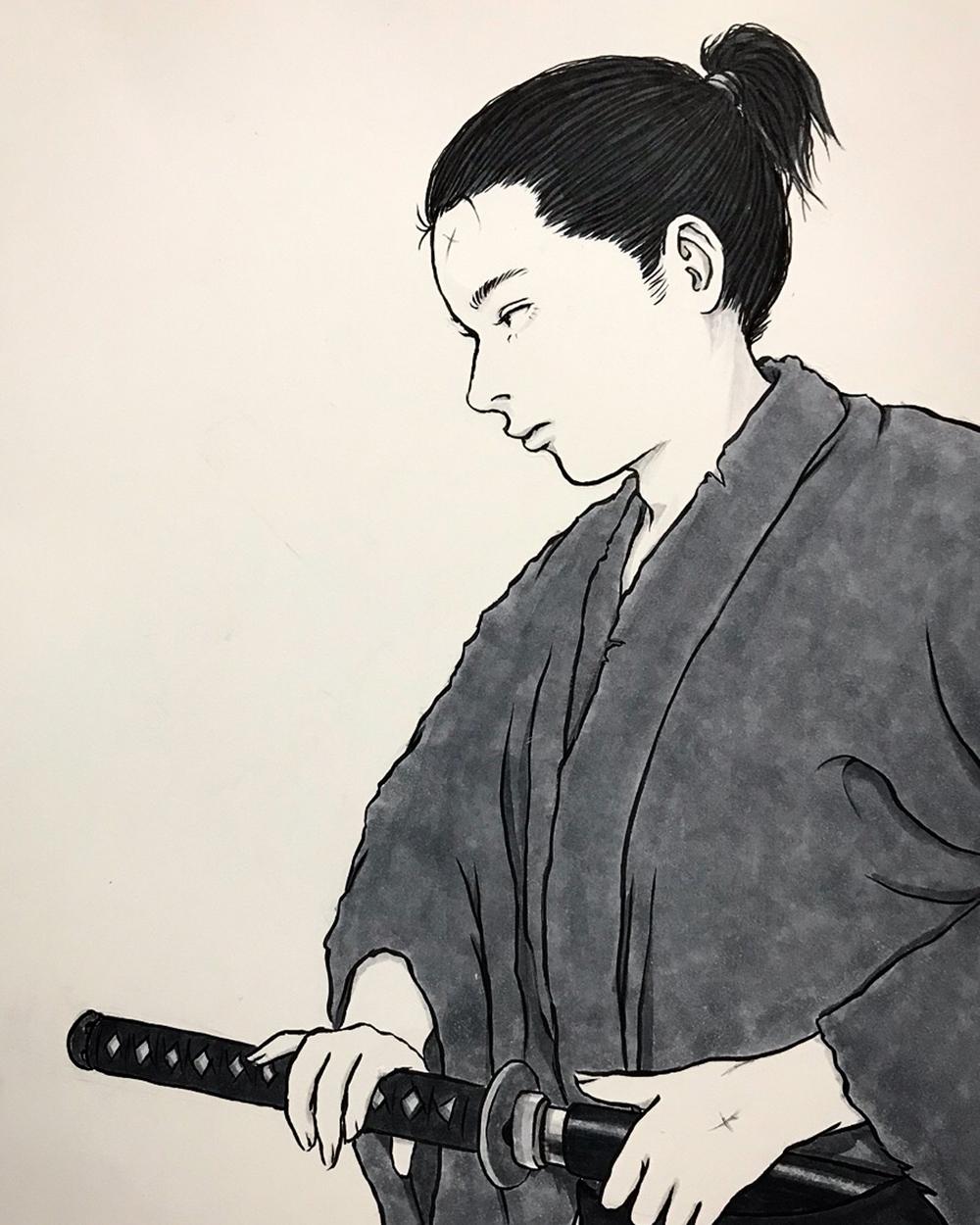 久々に侍 SAMURAI1