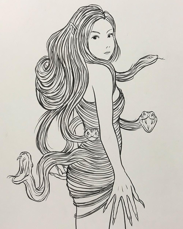 謎の妖怪の正体は二口女 FUTAKUCHI-ONNA2