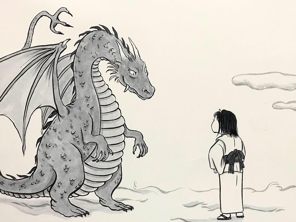 エゲレスのドラゴンVS風神の末娘 FUJIN1