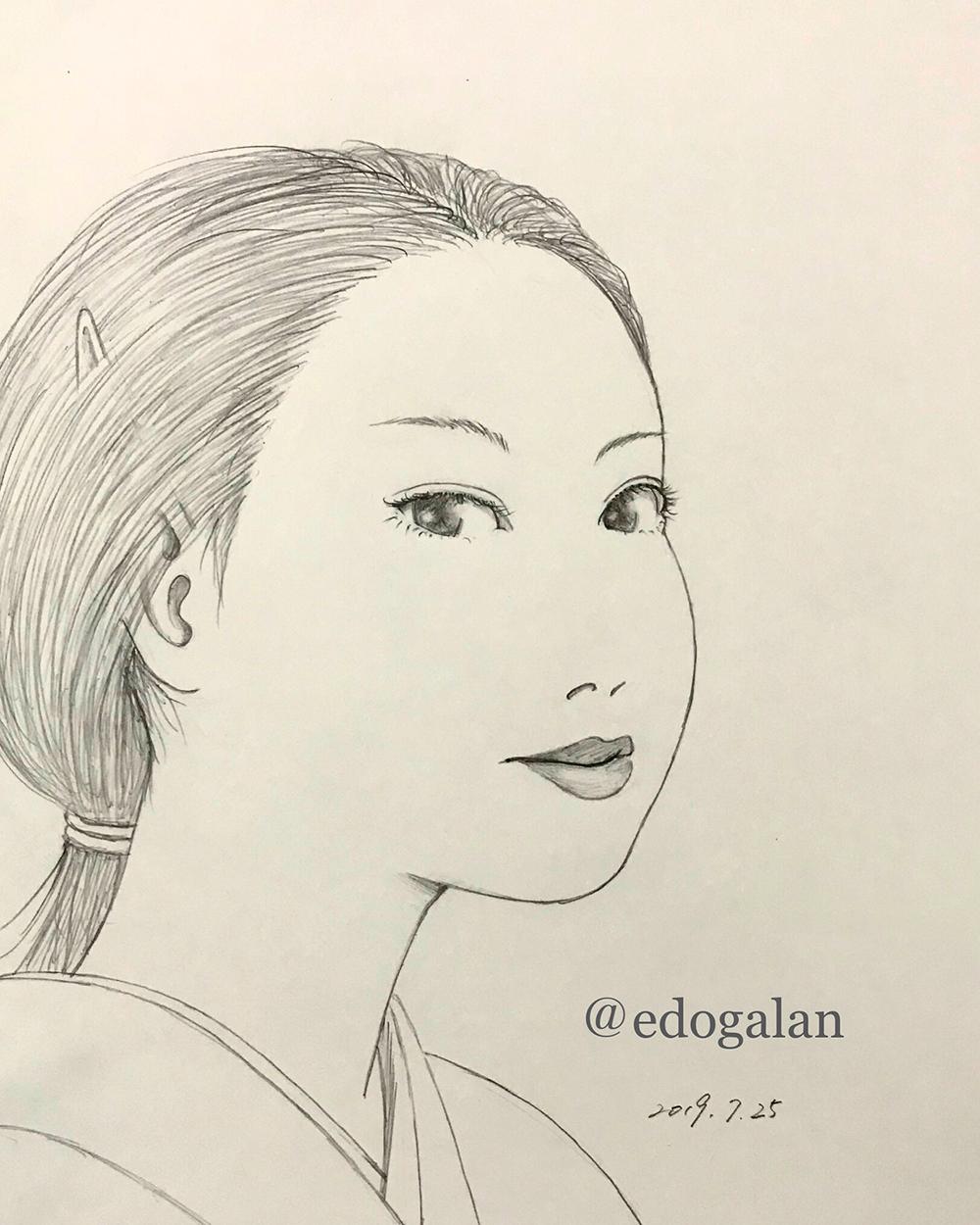 黒亜デッサン KARASU