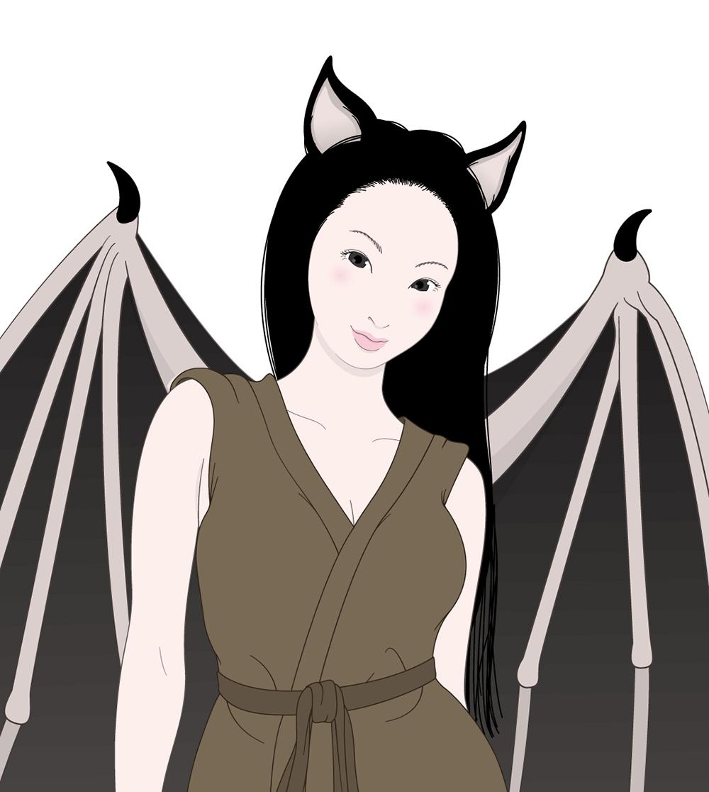 こうもり女カラー KOUROMI2