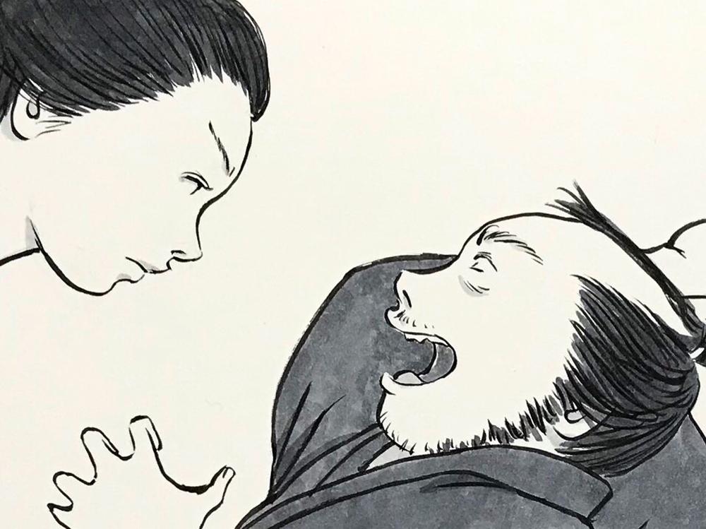 お菊どろぼうを捕まえる OKIKU5