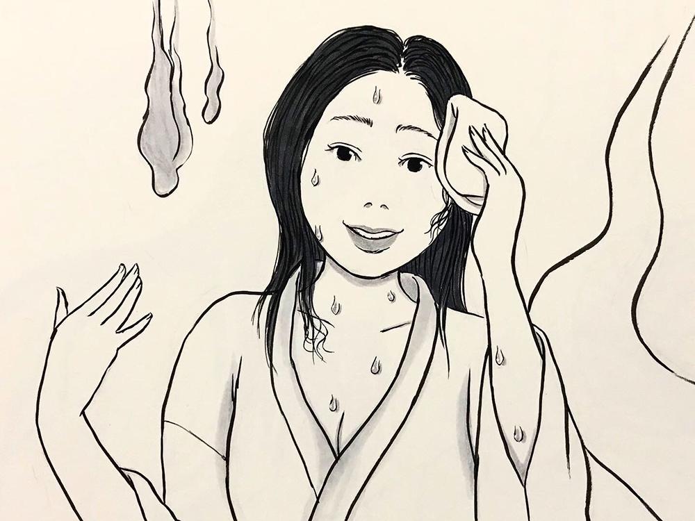 汗っかきの幽霊 YUREI1