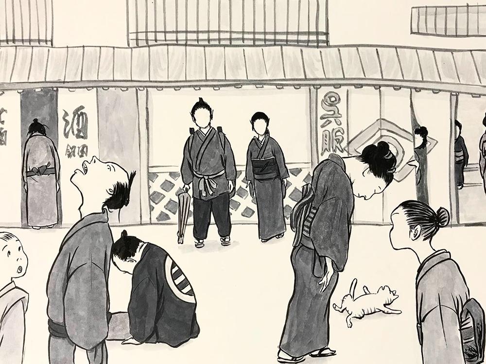 からすの黒兵衛登場2 KUBOBE3