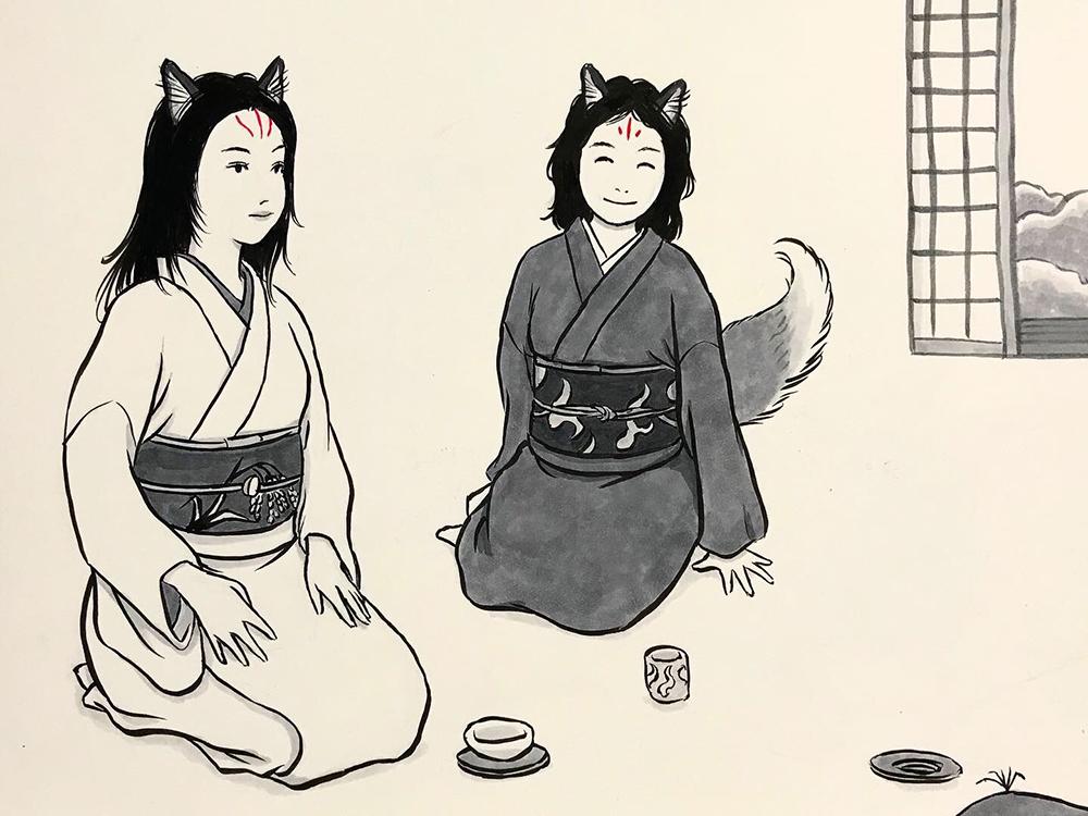 からすの黒兵衛登場3 KUBOBE4