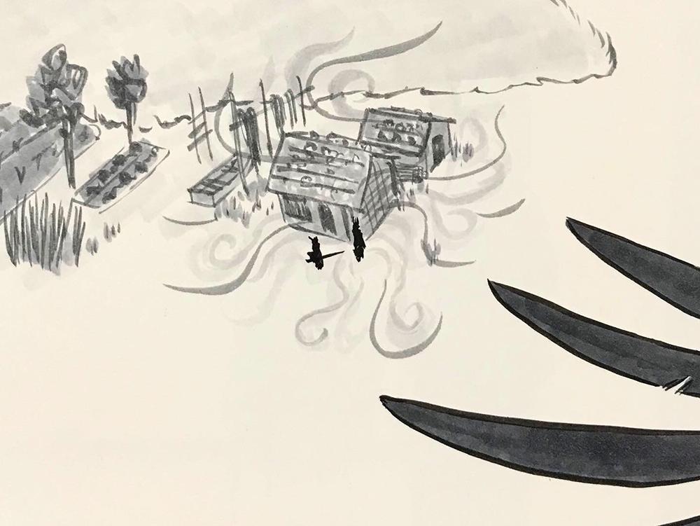 からすの黒兵衛登場6 KUBOBE4