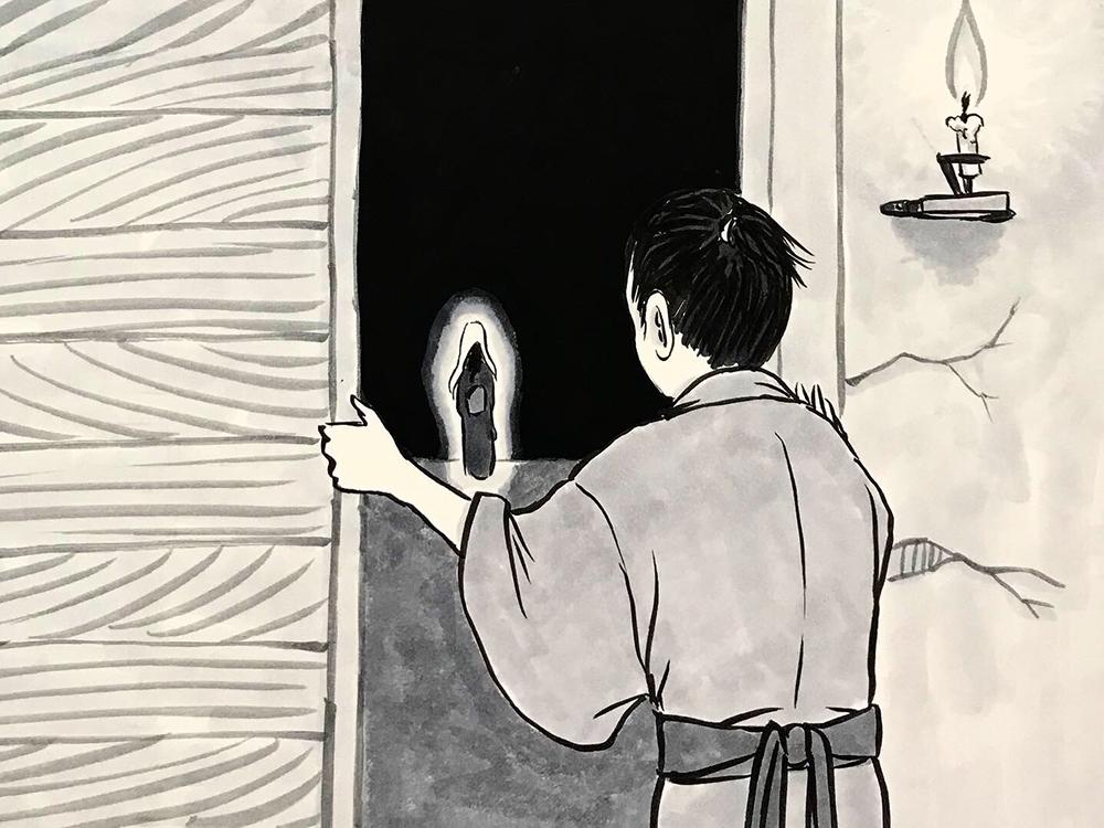 からすの黒兵衛登場6 KUBOBE7