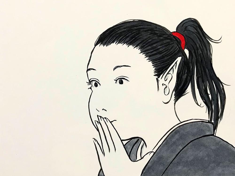 からすの黒兵衛登場7 KUBOBE3