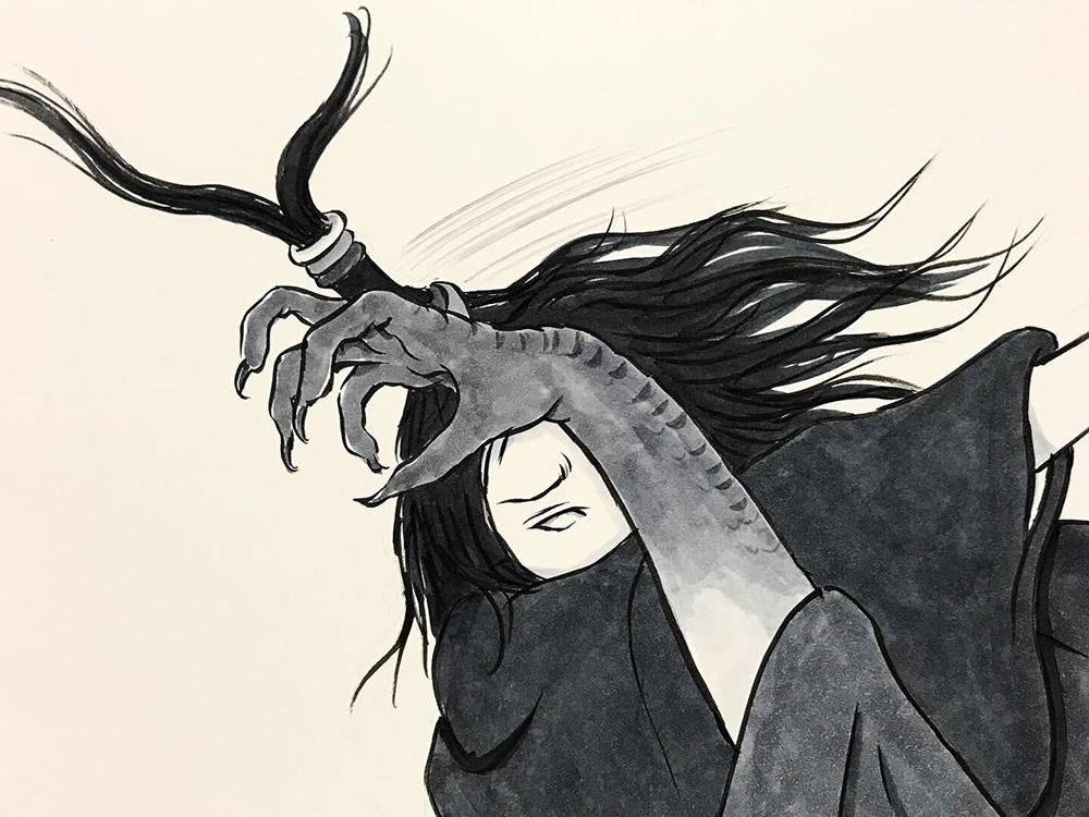 からすの黒兵衛登場8 KUBOBE3