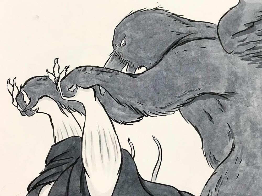 からすの黒兵衛登場9 KUBOBE4