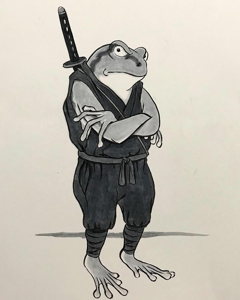 我輩は蛙忍者である KAERU2