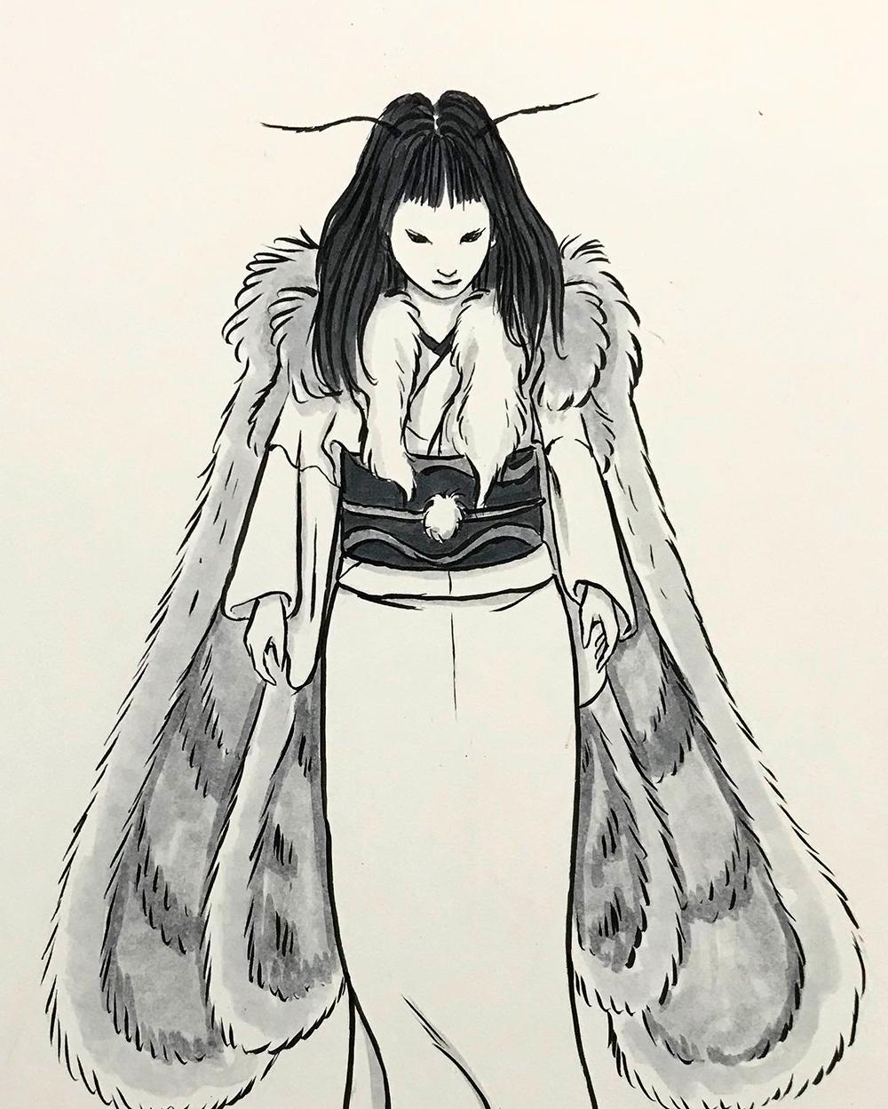 毒蛾のイメージ DOKUGA2