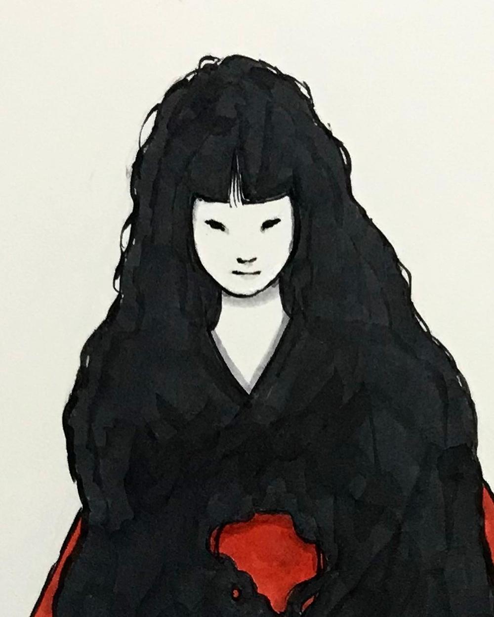 赤い帯の女 AKAIOBI1