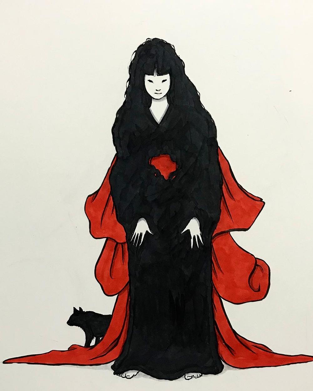 赤い帯の女 AKAIOBI2