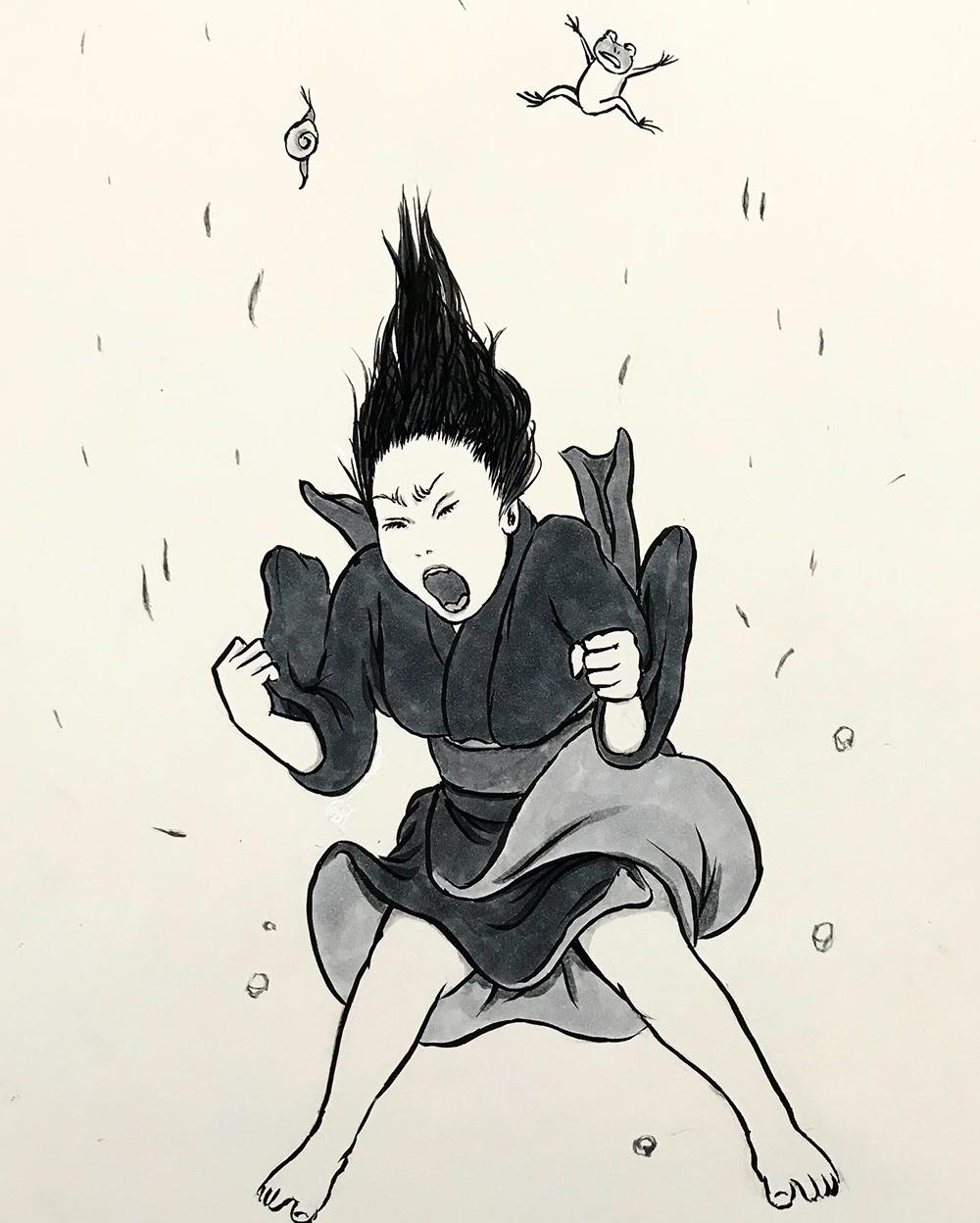 叫ぶ女 SAKEBU2