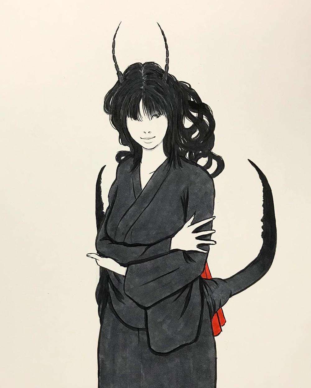 妖怪ハサミムシ HASAMIMUSHI2