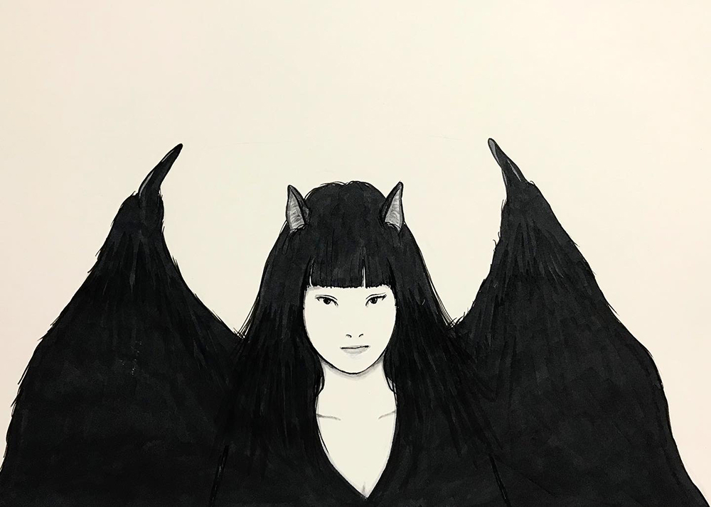 新コウモリ娘登場 KOUMORI3