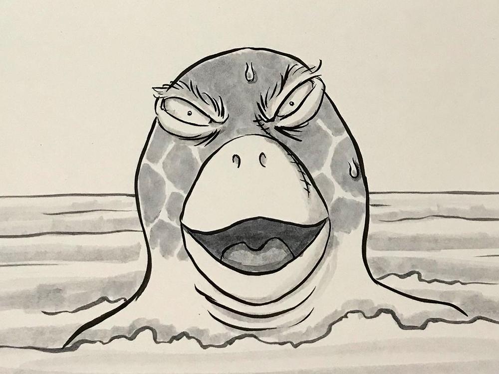 亀きち驚く KAMEKICHI3