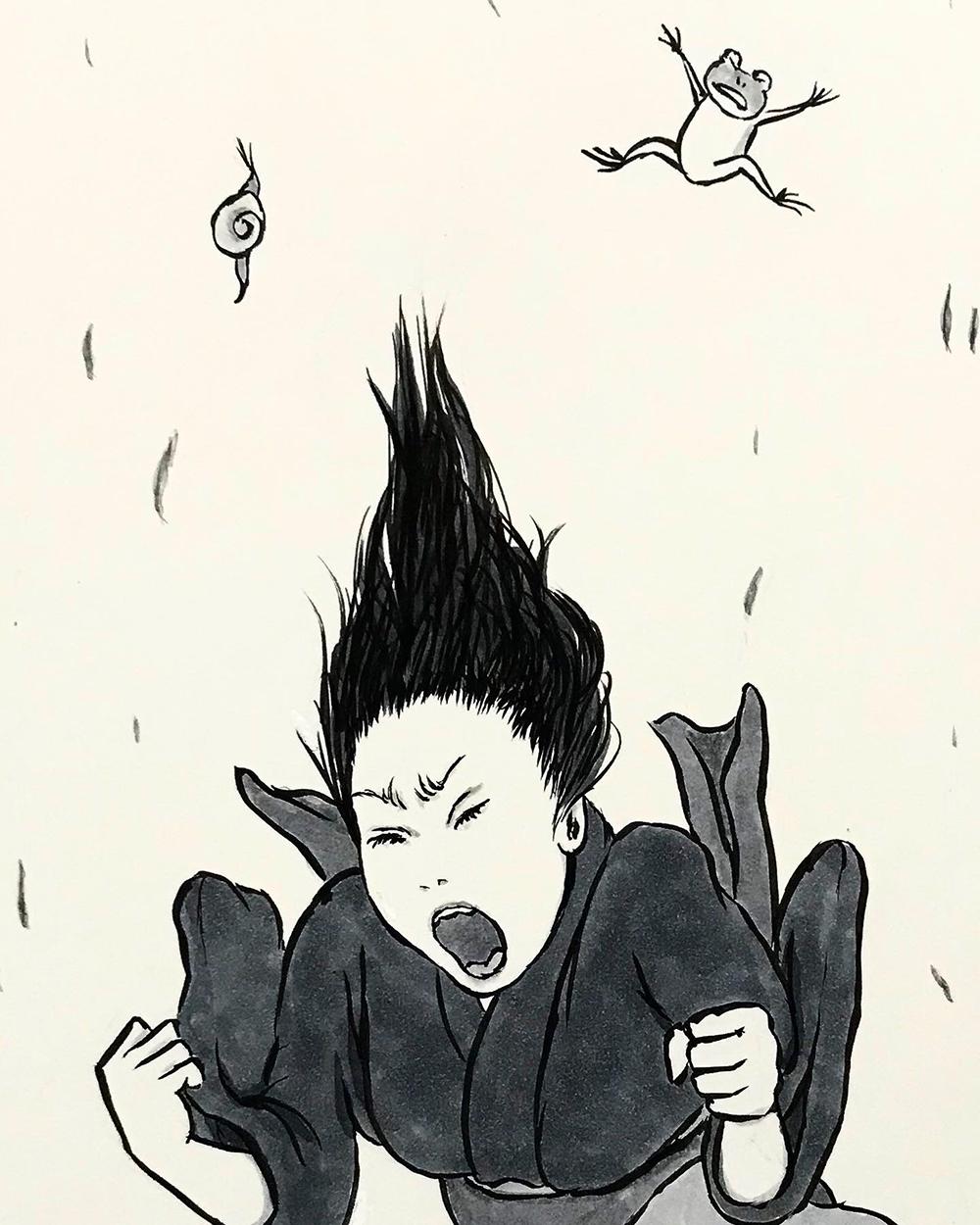 叫ぶ女 SAKEBU1