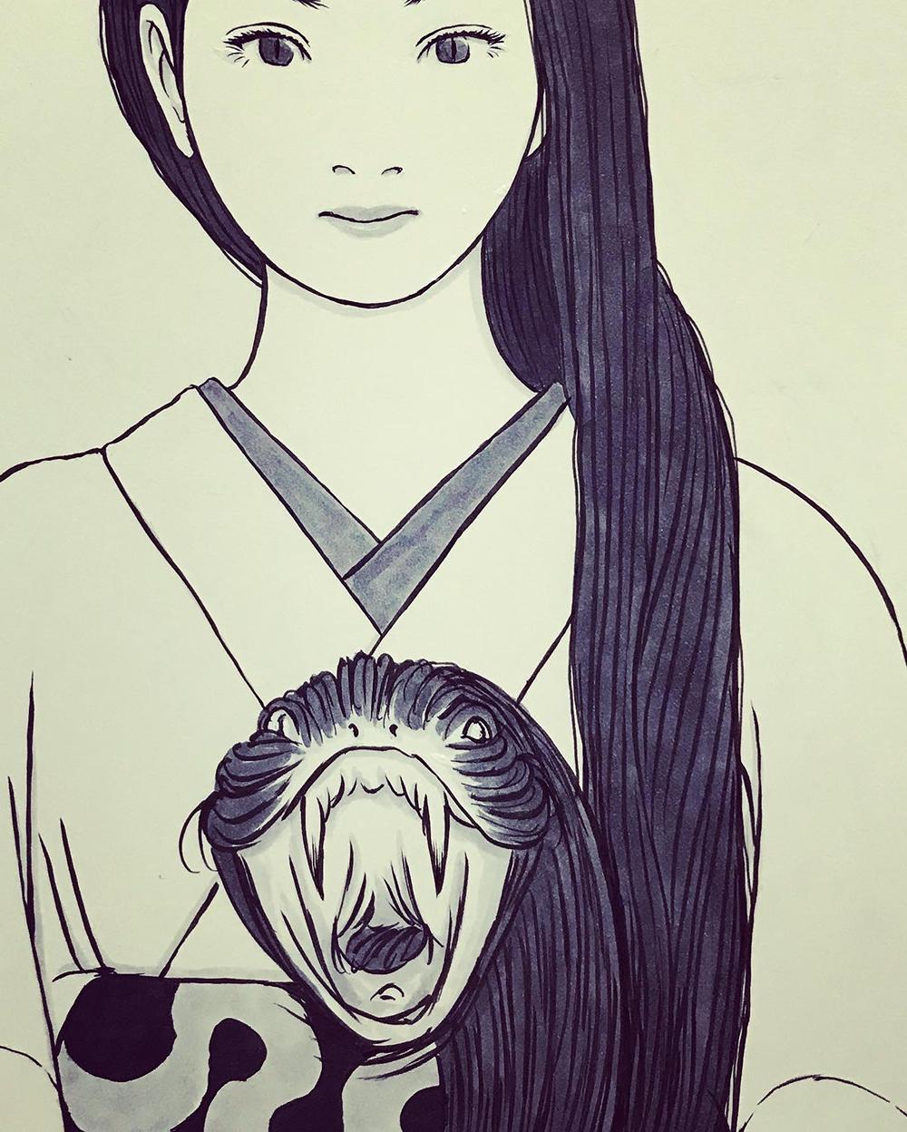 急きょ髪の蛇 KAMI-HEBI2