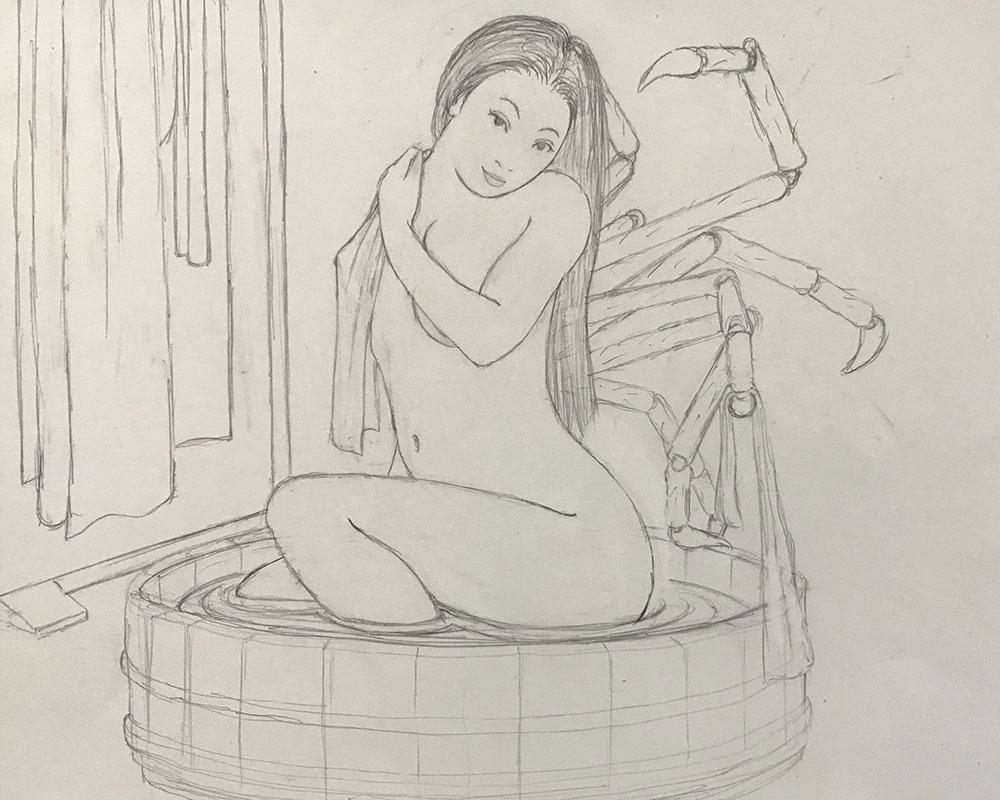 大女将入浴シーン EROGALAN4
