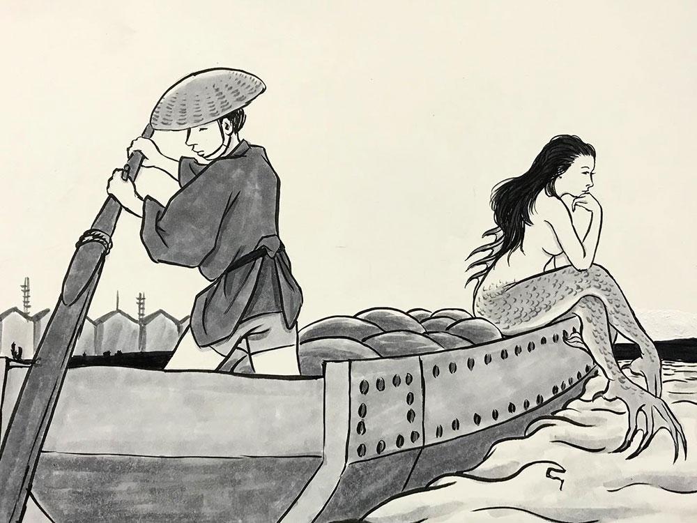 新種の二本足人魚 NINGYO1