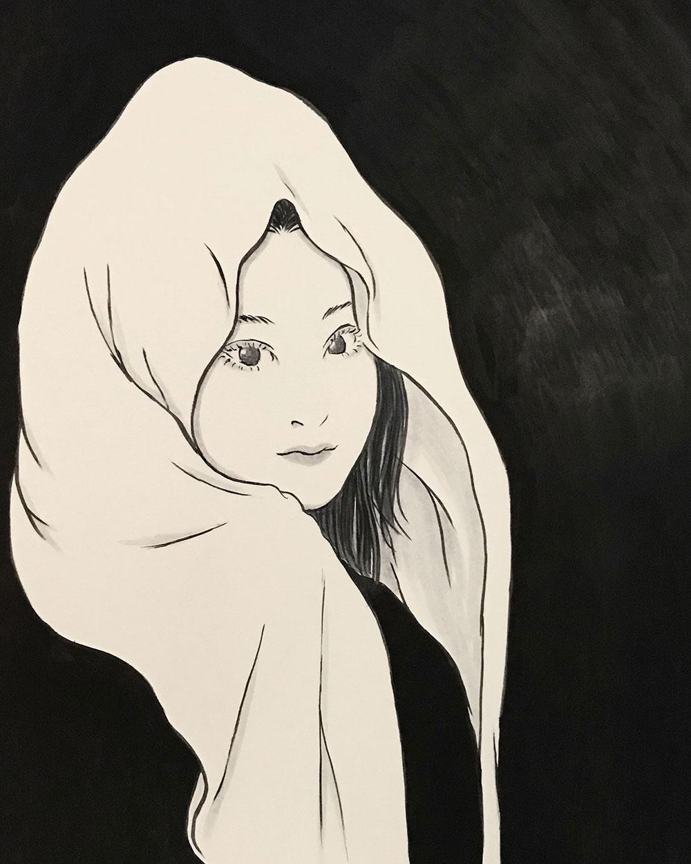 吹き流しのお姉さん FUKINAGASHI