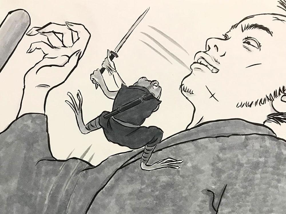 ケロ丸の道場破り KEROMARU