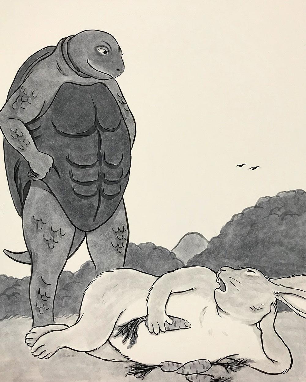 シン・ウサギとカメ USAGI&KAME