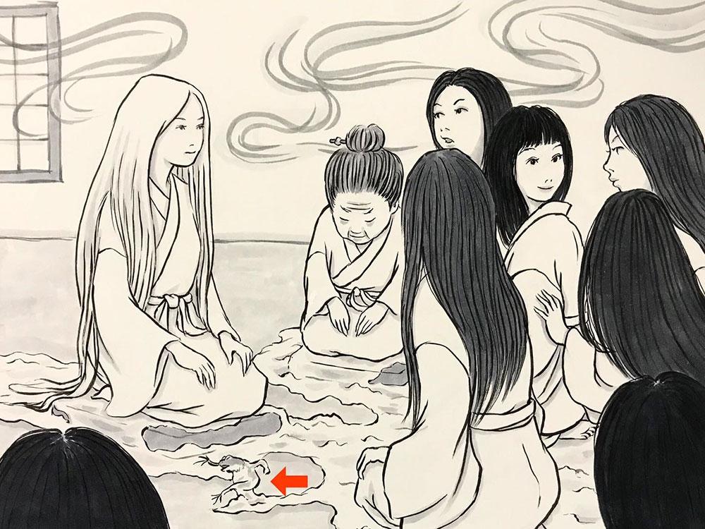 全国雪女協同組合の緊急会議 YUKI-ONNA