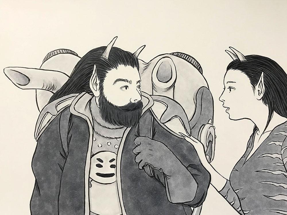 風邪が治った冬将軍 FUYUSHOGUN