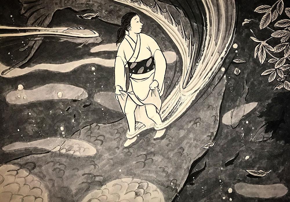沼の主と女 NUMA