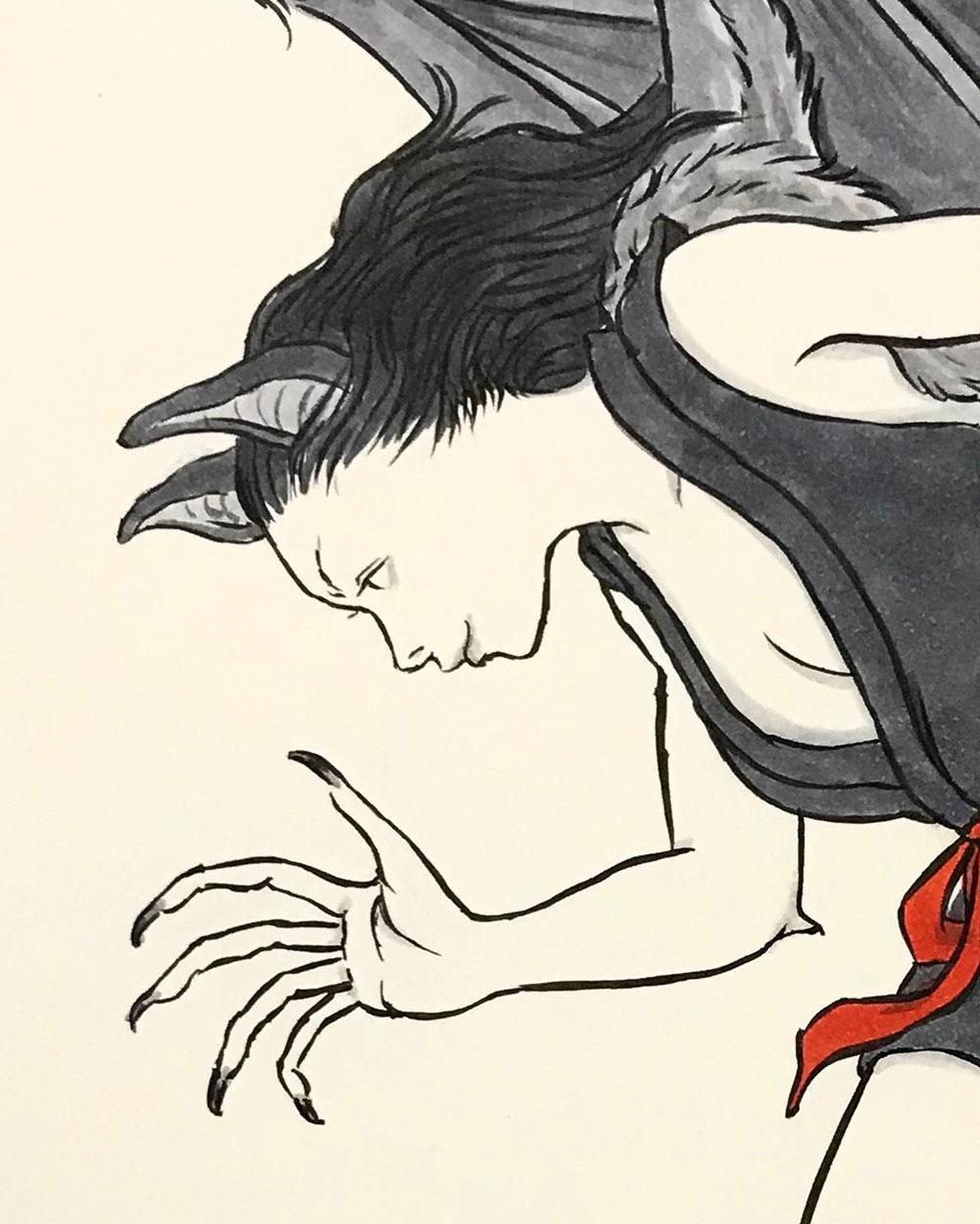 シン・コウモリ女 KOMORI