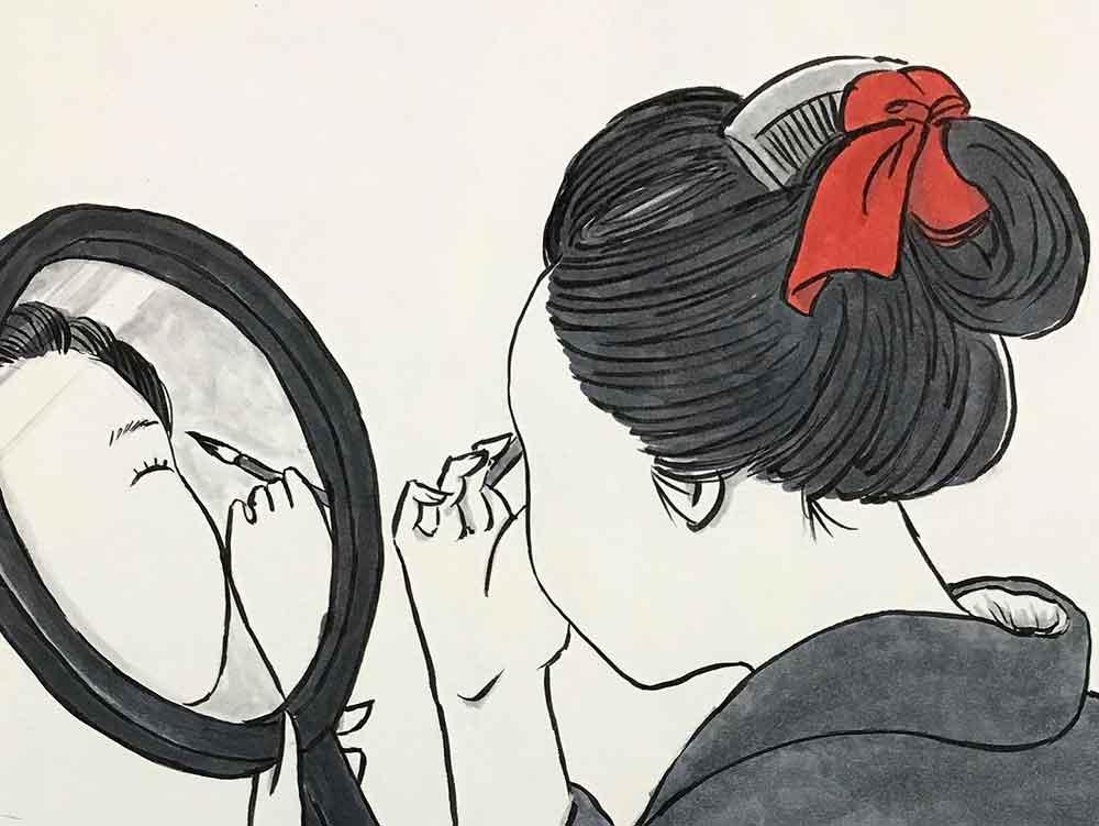 ろくろっ首とのっぺらぼう OKIKU & OTSURU