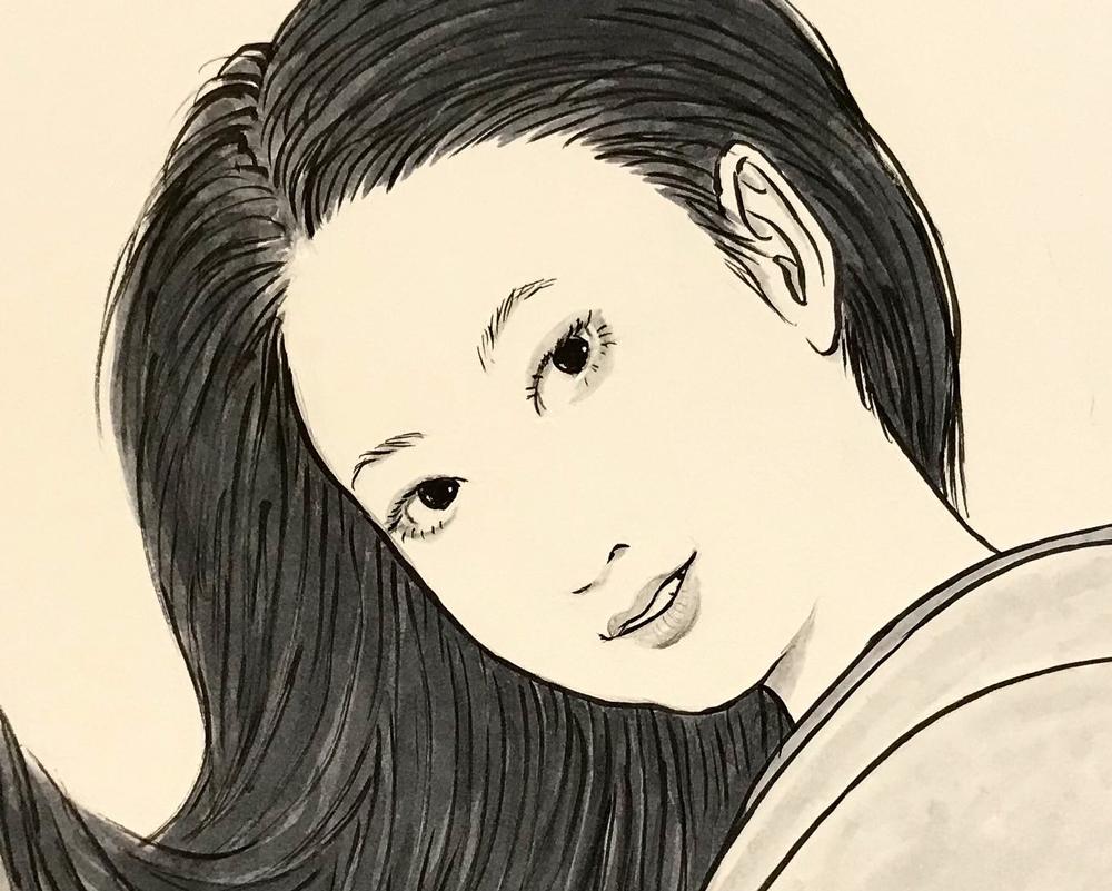 巻き髪の女 MAKIGAMI