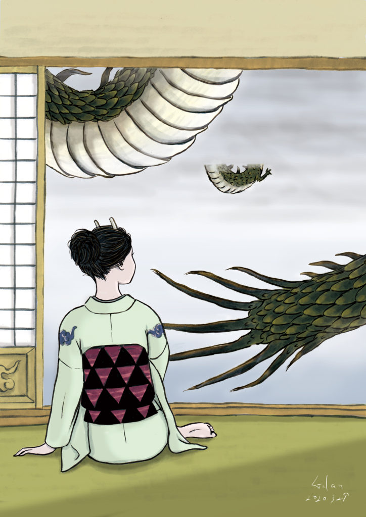 龍の夫婦(color) RYU-DRAGOM