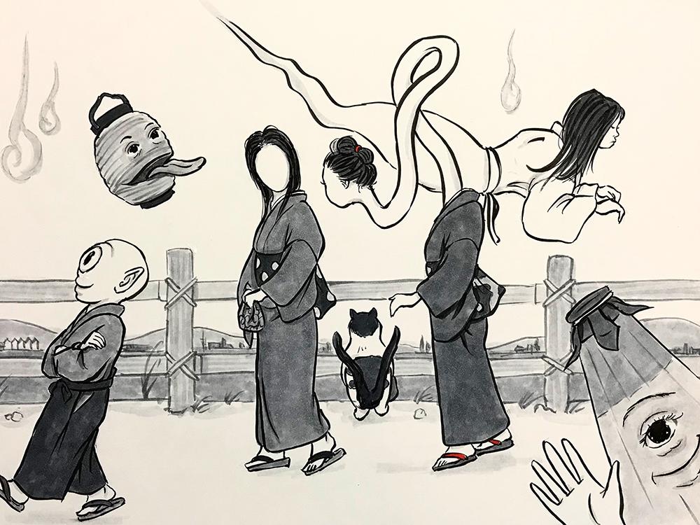 お鶴とお菊 OTSURU&OKIKU