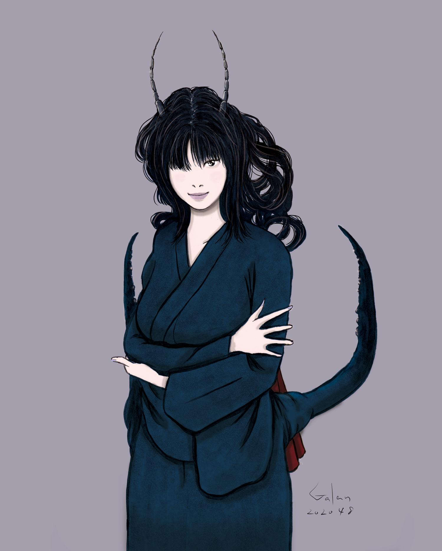 妖怪ハサミムシ(color) HASAMIMUSHI