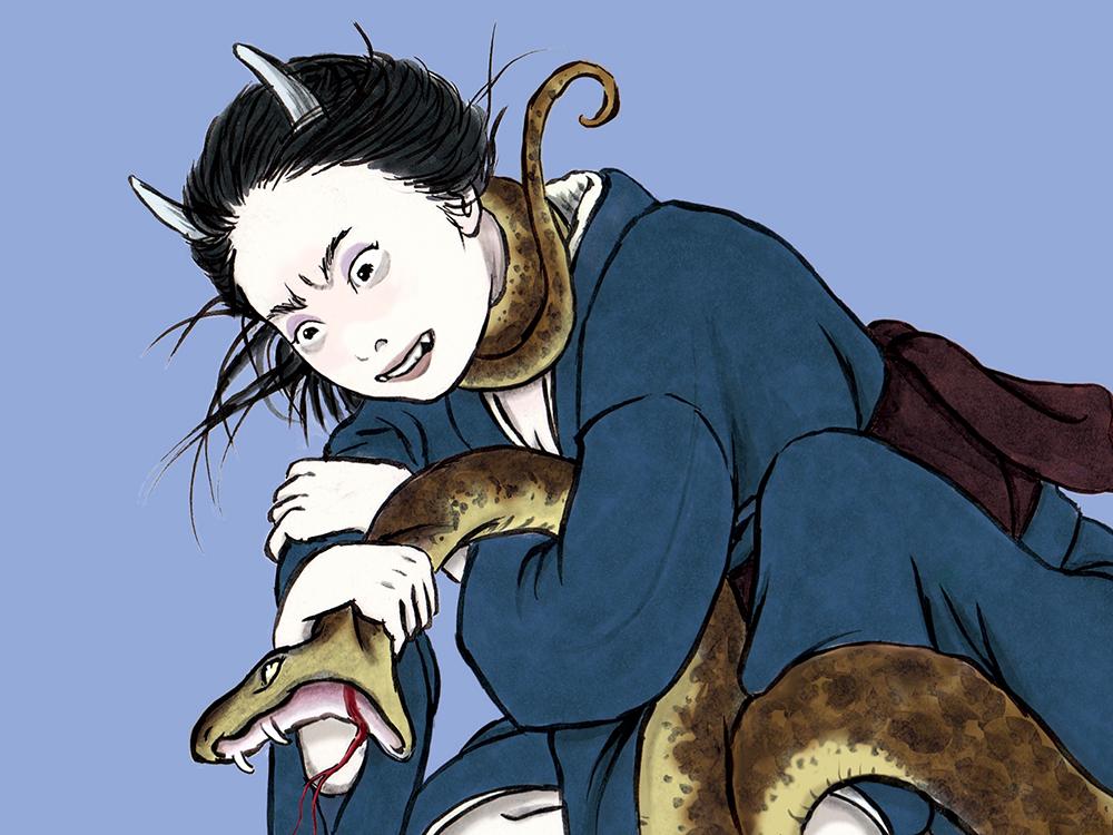 鬼VS大蛇(color) ONI VS OROCHI