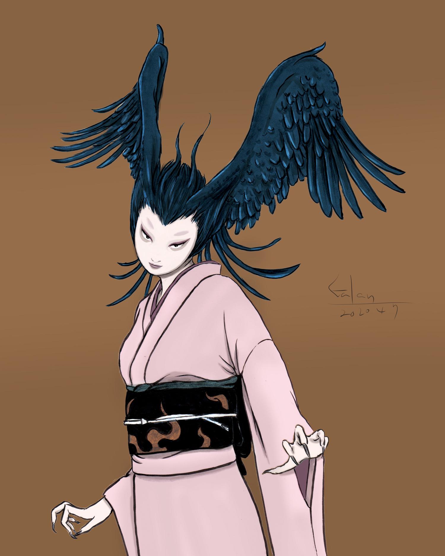 和風シレーヌ(color) DEVILMAN-SIRENE