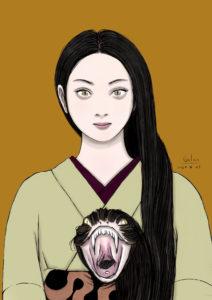 髪蛇(color) KAMI-HEBI