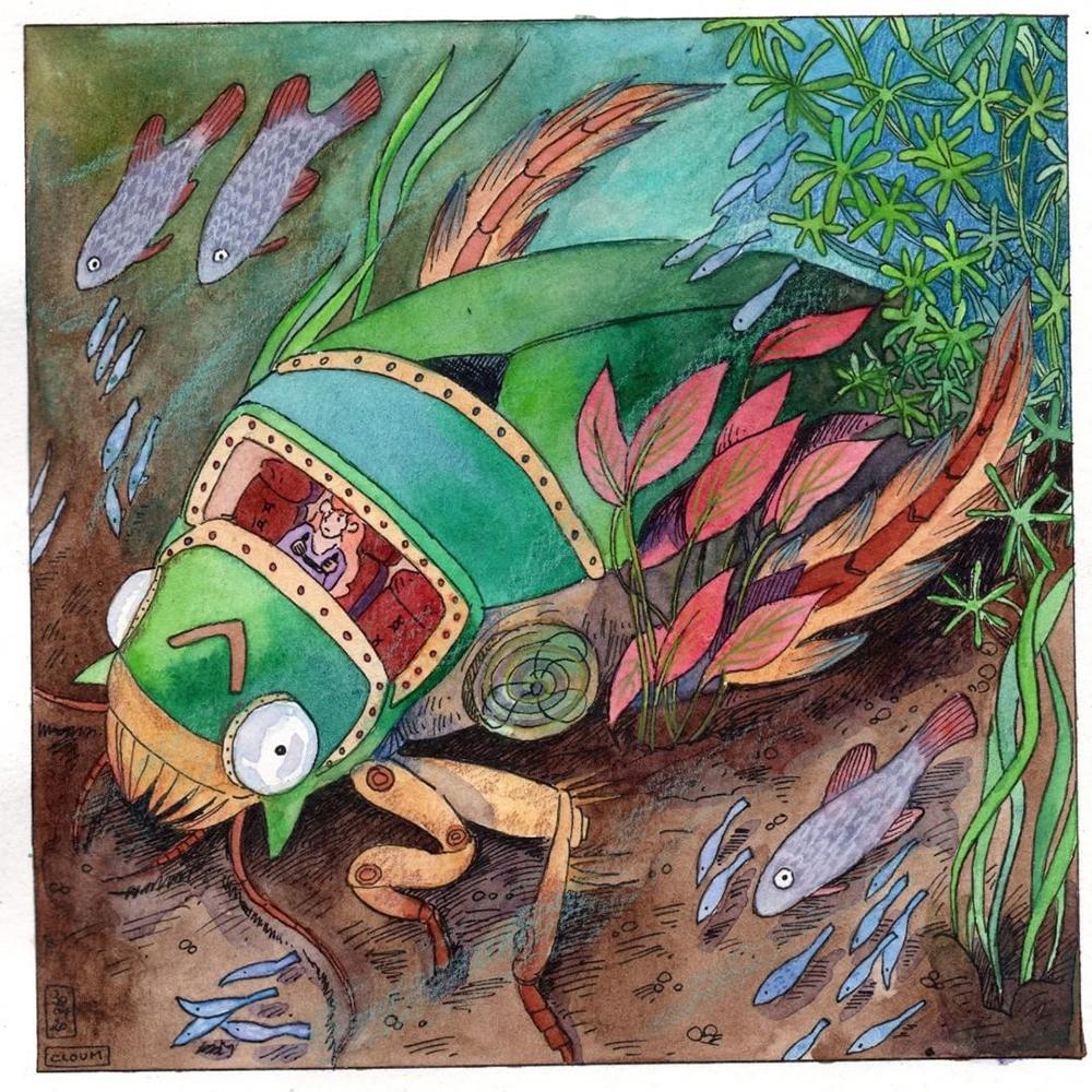水の怪物 AQUQTIC-MONSTERS