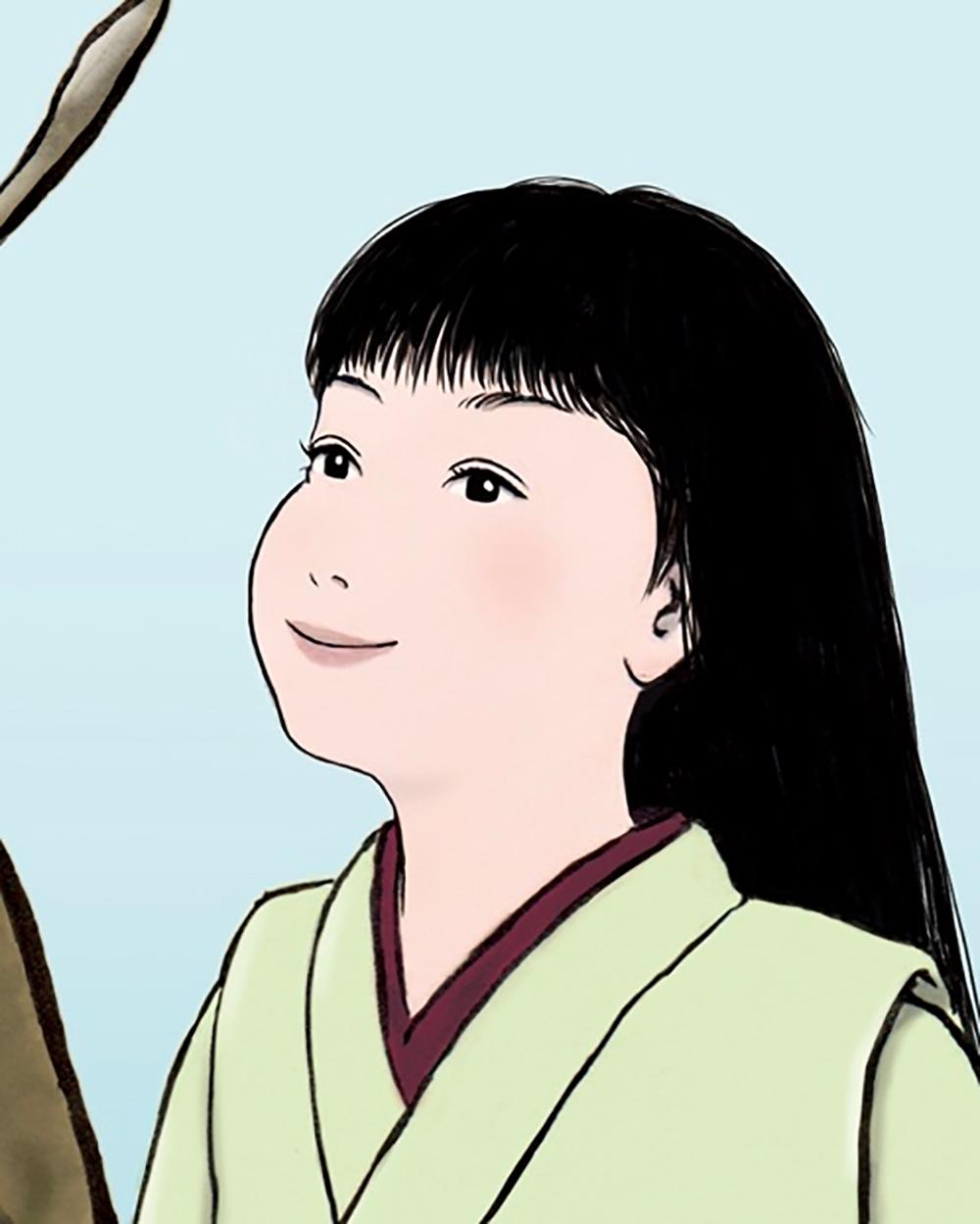 お嬢とカタツムリ(color) DENDEN
