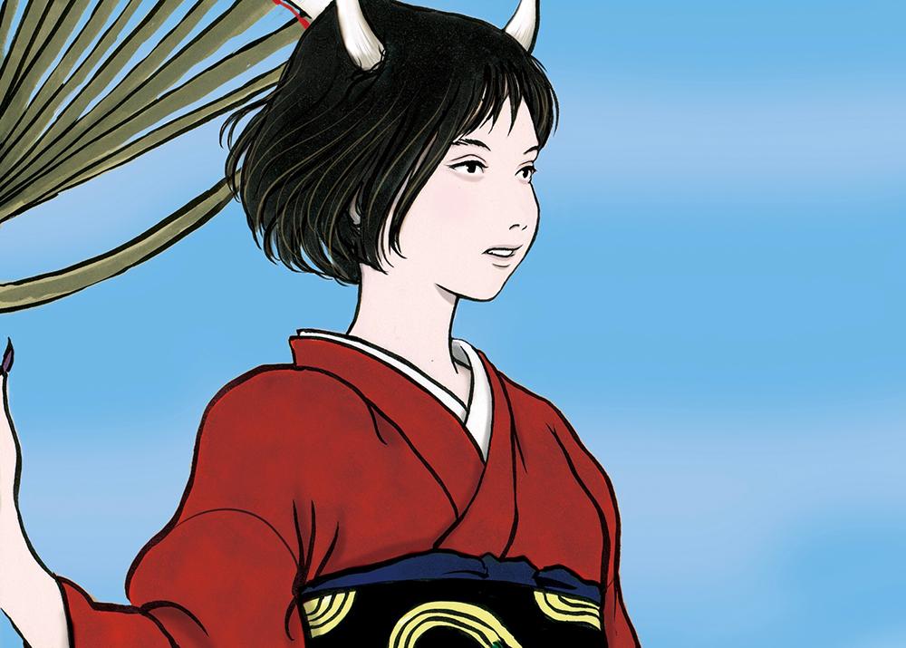 風神の娘(color)FUJIN