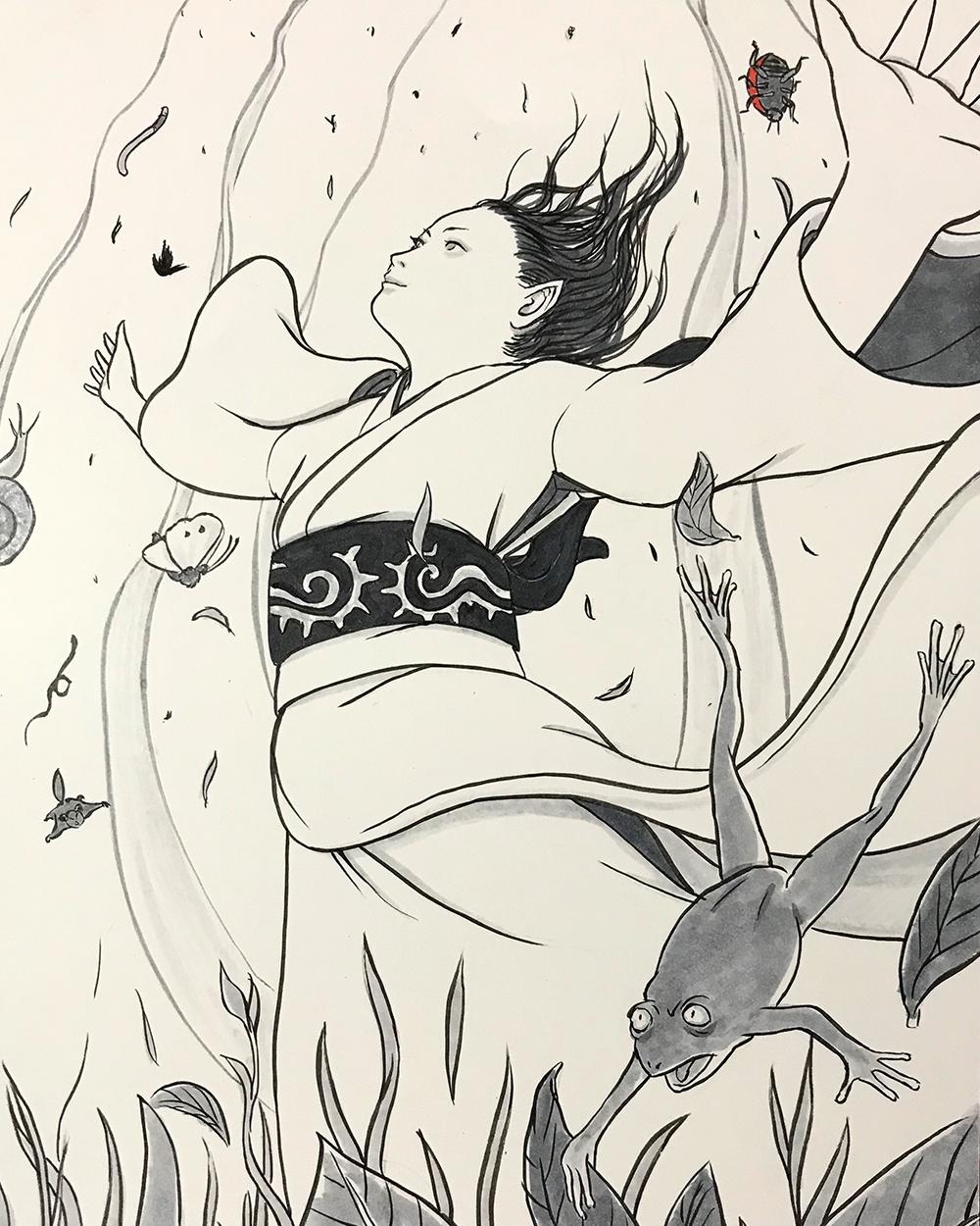 里山の女神 SATOYAMA-MEGAMI