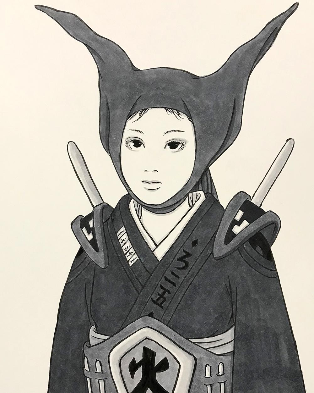 頭巾の妖怪2 ZUKIN