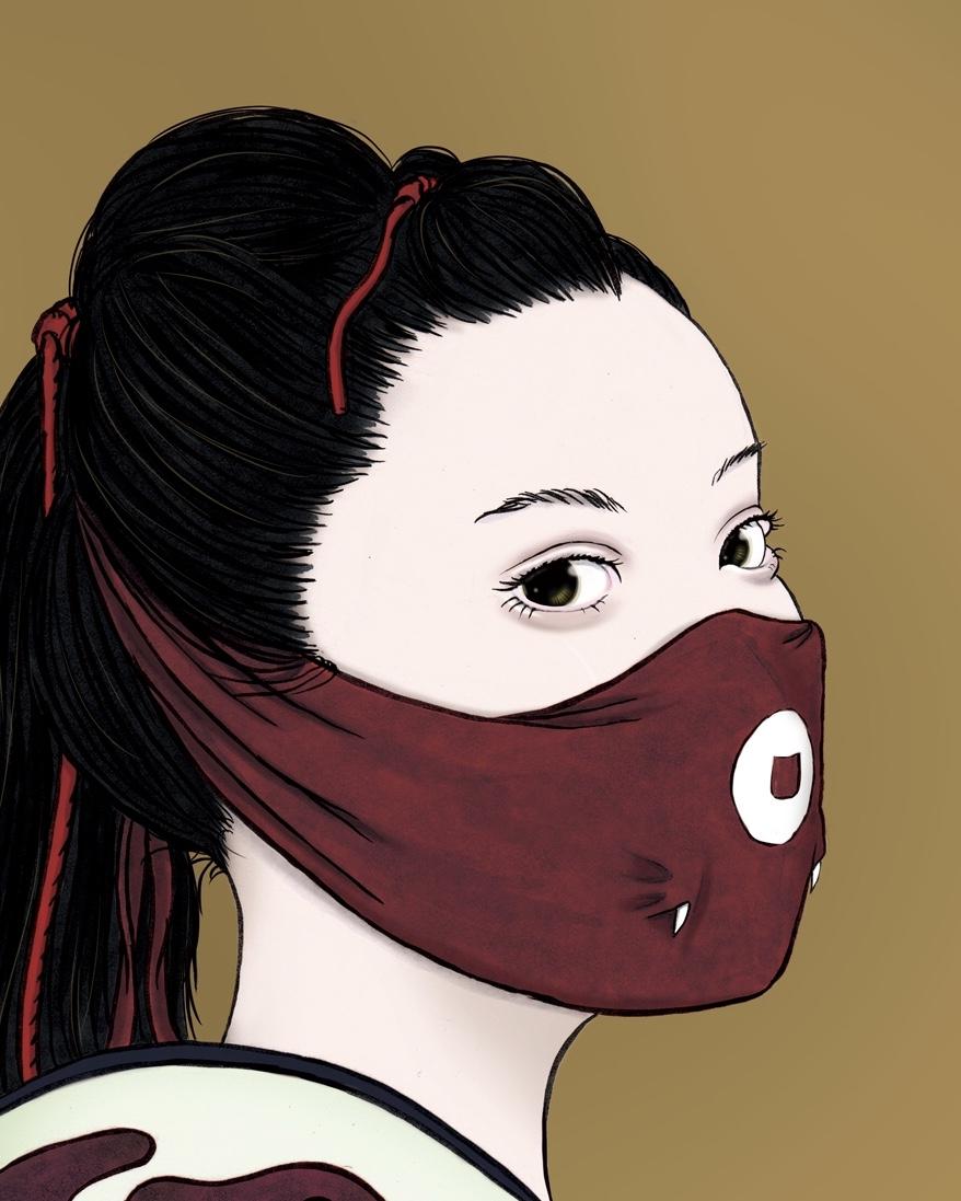 マスク美人?(color) MASK