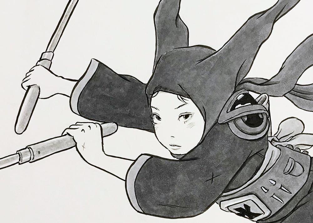 頭巾を被る女2の名誉 ZUKIN