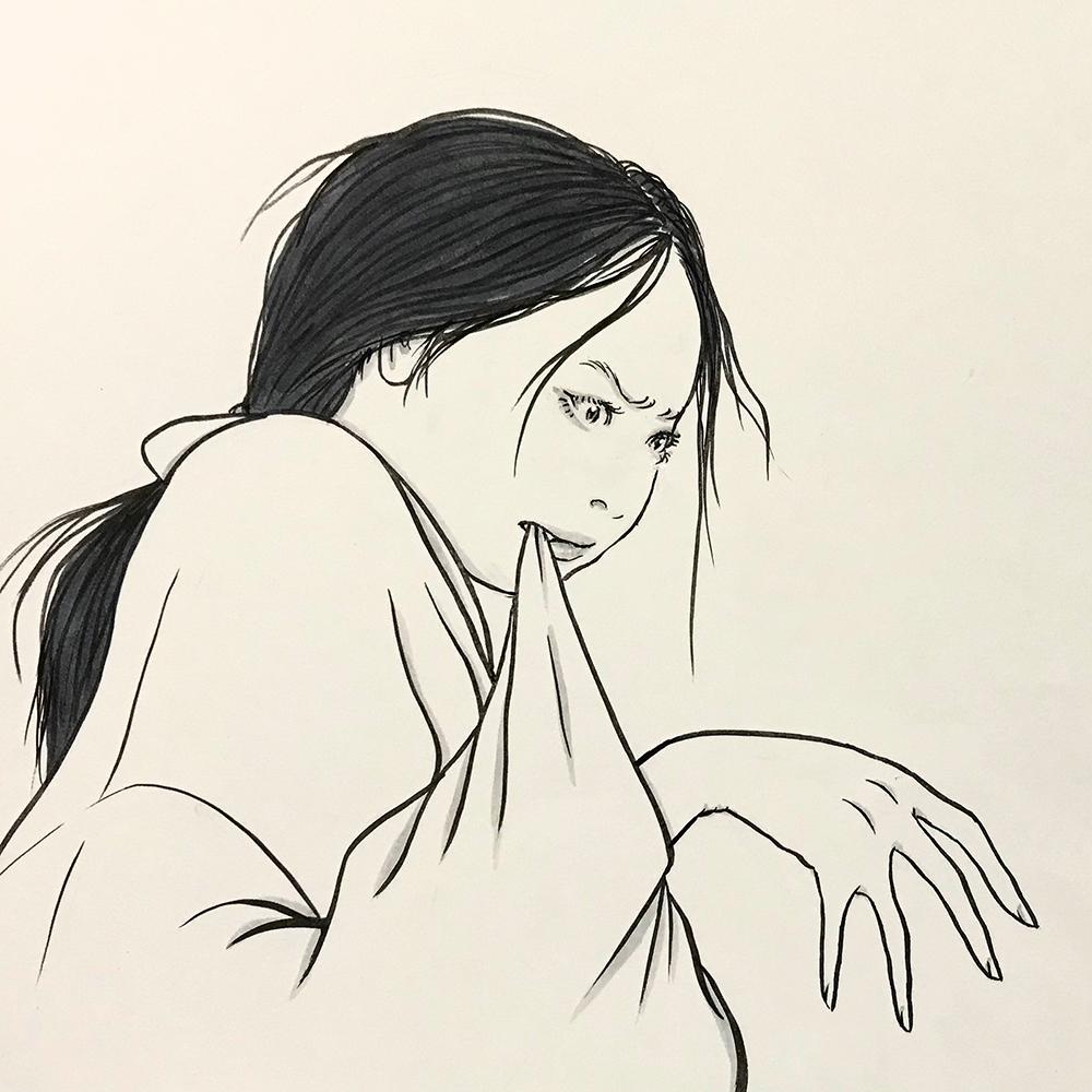 怒る女 OKORU