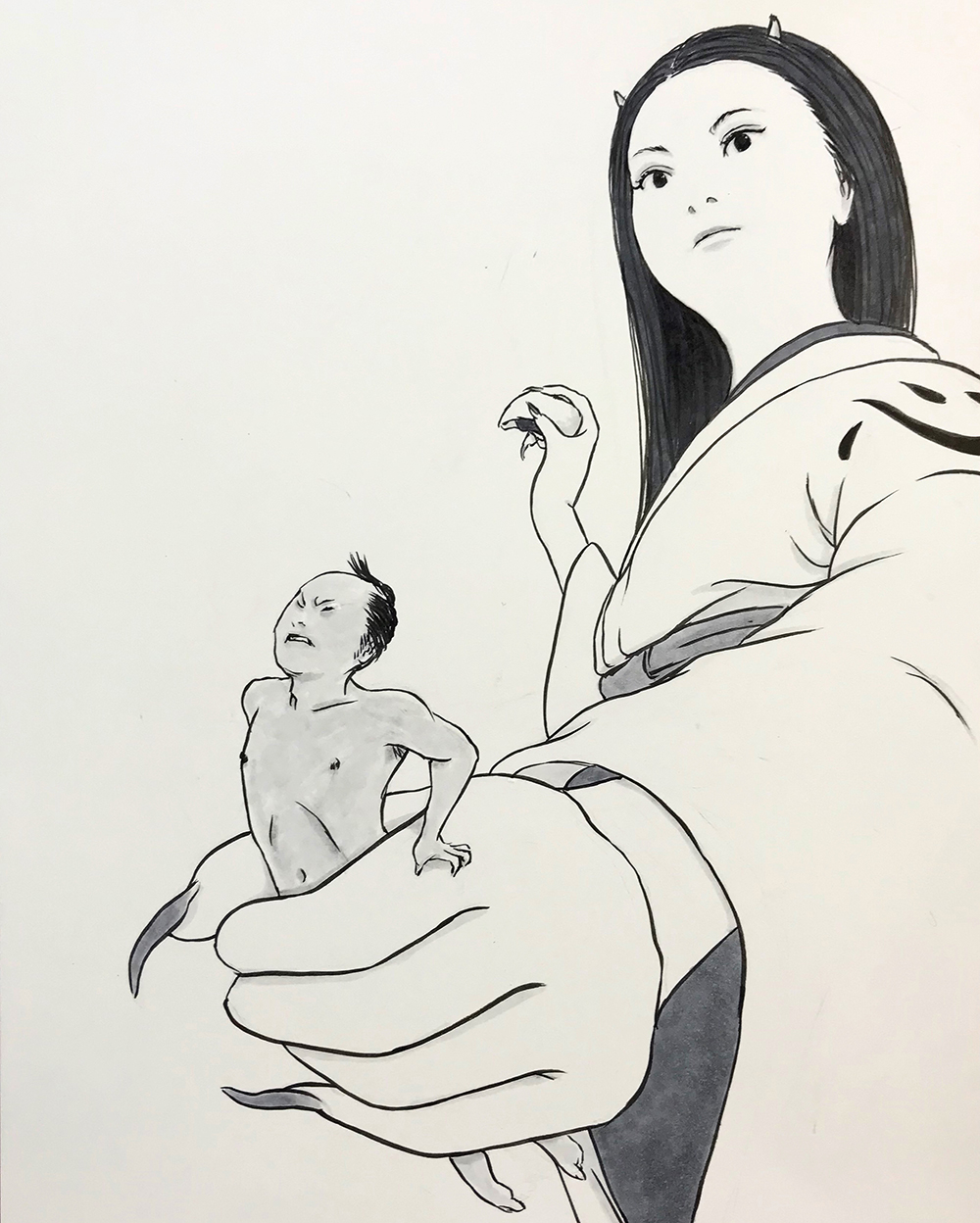 鬼嫁の憂鬱1 ONIYOME